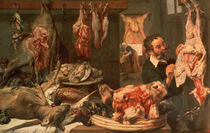 The Butcher's Shop by Frans Snyders or Snijders