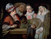 Actors from the Theatre Francais von Jean Antoine Watteau
