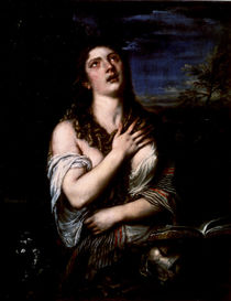 Mary Magdalene, c.1561 by Titian