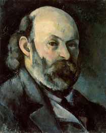 Self Portrait, c.1879-85 by Paul Cezanne