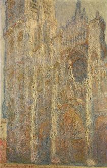 Rouen Cathedral, Midday, 1894 von Claude Monet