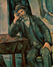 Man Smoking a Pipe, 1890-92 by Paul Cezanne