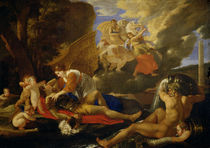 Rinaldo and Armida by Nicolas Poussin