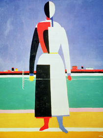 Woman with a Rake, c.1928-32 by Kazimir Severinovich Malevich