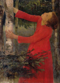 Bird Song by Karoly Ferenczy