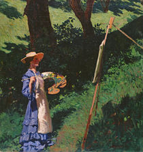 The Artist by Karoly Ferenczy