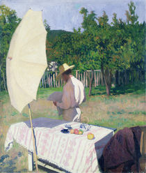 October by Karoly Ferenczy