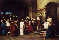 Christ Before Pilate by Mihaly Munkacsy