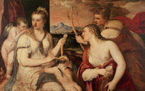 The Education of Cupid, c.1565 by Titian