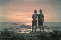 Two Men by The Sea by Caspar David Friedrich