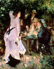In the Garden, or Under the Trees of the Moulin de la Galette by Pierre-Auguste Renoir