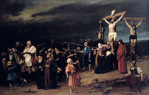 Christ on the Cross, 1884 by Mihaly Munkacsy