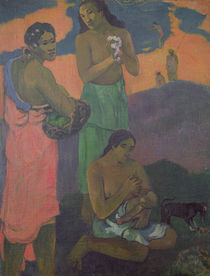 Maternity, or Three Women on the Seashore von Paul Gauguin