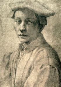 Portrait of Andrea Quaratesi by Michelangelo Buonarroti