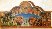 The Last Judgement, altarpiece from Santa Maria degli Angioli von Fra Angelico