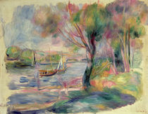 The Seine at Argenteuil, 1892 by Pierre-Auguste Renoir
