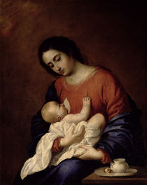Virgin and Child, 1658 von Francisco de Zurbaran