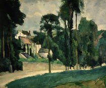 The Road at Pontoise, 1875 by Paul Cezanne