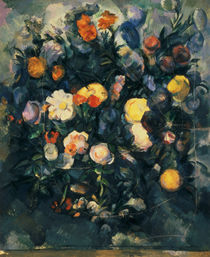Vase of Flowers, 19th by Paul Cezanne