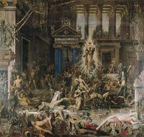 Les Pretendants, 1862-98 by Gustave Moreau