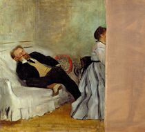Monsieur and Madame Edouard Manet von Edgar Degas