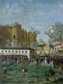 The Bastille Prison, 14th July 1789 von Jean Dubois