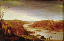 View of Prague by Dirck Verhaert
