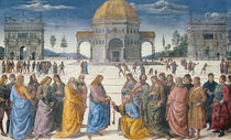 Giving of the Keys to St. Peter by Pietro Perugino