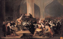 Court of the Inquisition von Francisco Jose de Goya y Lucientes