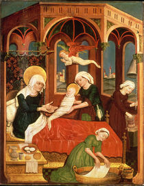Birth of Mary by Leinhart von Brixen