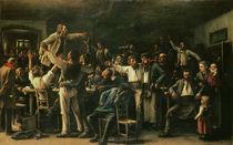 Strike, 1895 von Mihaly Munkacsy