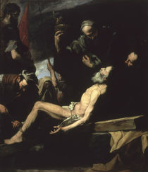 The Martyrdom of St. Andrew by Jusepe de Ribera