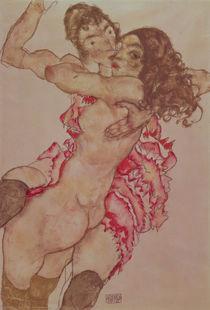 Two Women Embracing, 1915 by Egon Schiele