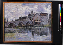 The Bridge of Moret-sur-Loing by Alfred Sisley