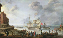 Ships Arriving in a Port by Adam Willaerts