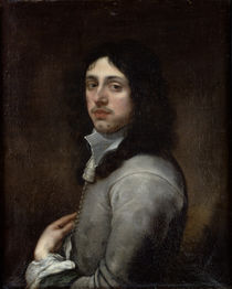 Portrait of a Young Man Dressed in Grey by Bartolome Esteban Murillo