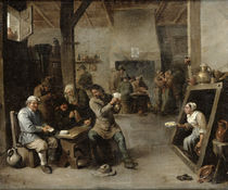 The Card Players by David the Younger Teniers