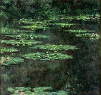 Waterlilies, 1904 von Claude Monet