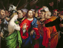 Christ and the Adulteress, c.1527-29 by Lorenzo Lotto