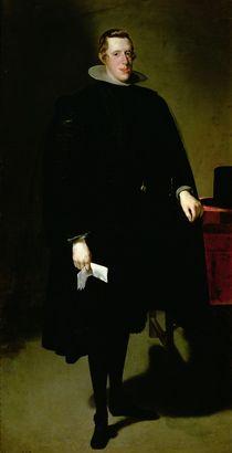 Philip IV of Spain c.1626 by Diego Rodriguez de Silva y Velazquez