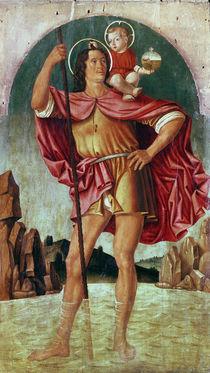 St. Christopher von Filippo Mazzola or Mazzola dell'Erbette