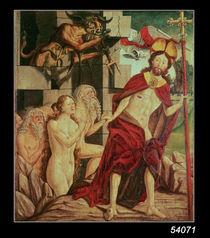Christ in Hell von Friedrich Pacher