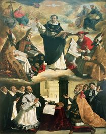 The Apotheosis of St. Thomas Aquinas by Francisco de Zurbaran
