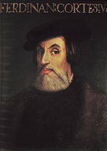 Portrait of Hernando Cortes by Italian School