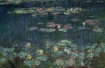 Waterlilies: Green Reflections von Claude Monet
