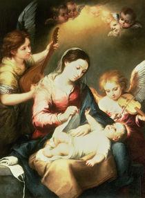 Virgin of the Swaddling Clothes von Bartolome Esteban Murillo