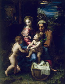 The Holy Family c.1518 von Raphael