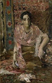 The Fortune Teller, 1895 von Mikhail Aleksandrovich Vrubel