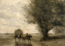 The Haycart, c. 1860 by Jean Baptiste Camille Corot