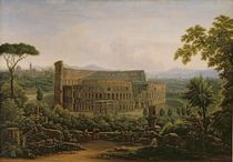 View of the Colosseum from the Palatine Hill von Fedor Mikhailovich Matveev